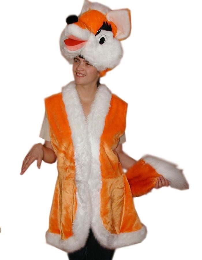 Карнавальный костюм Лис для взрослых купить