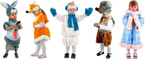 Карнавальные костюмы от производителя под реализацию