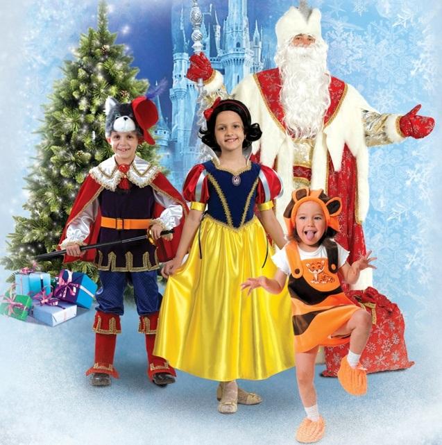 Разнообразные карнавальные костюмы от фабрики Радуга